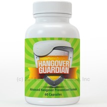 Hangover Guardian Pills Advanced Hang over Prevention Cure w/Charcoal - $24.95