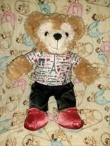 Disney Duffy Bear Hidden Mickey Plush Tan Teddy Mickey Mouse Disneyland ... - $39.59