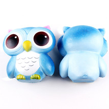 15cm Lovely Galaxy Owl Cream Scented Squishy Slow Rising Squeeze Toys Co... - $13.89