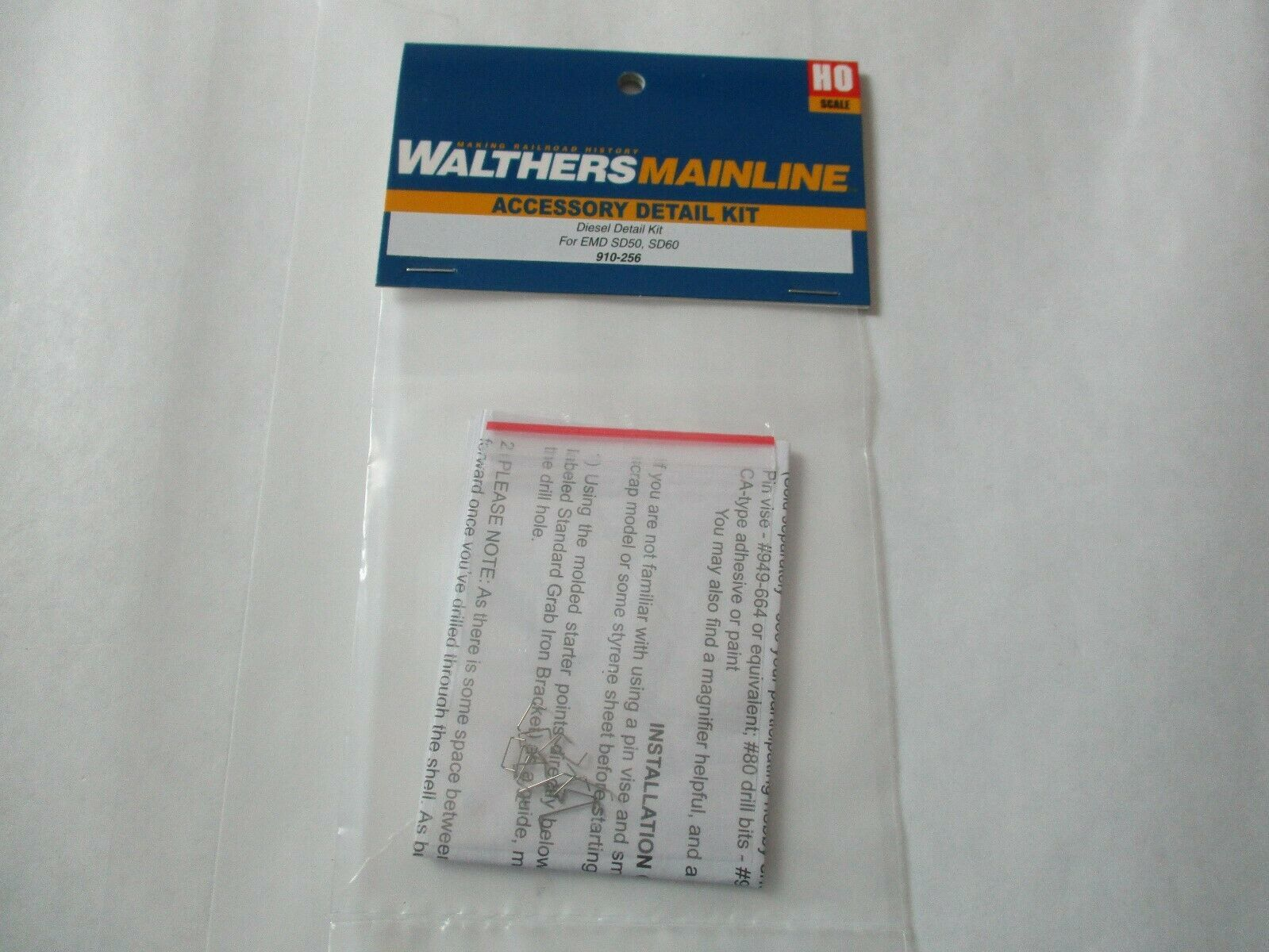 Walthers Mainline #910-256 END SD50 SD60 Diesel Detailing Kit  HO Scale