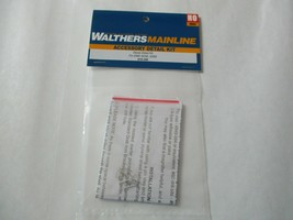 Walthers Mainline #910-256 END SD50 SD60 Diesel Detailing Kit  HO Scale image 1