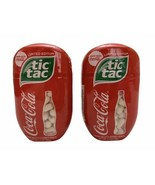 2x NEW Coca-Cola Flavored Tic-Tacs 3.4oz Limited Edition Discontinued  - $19.79