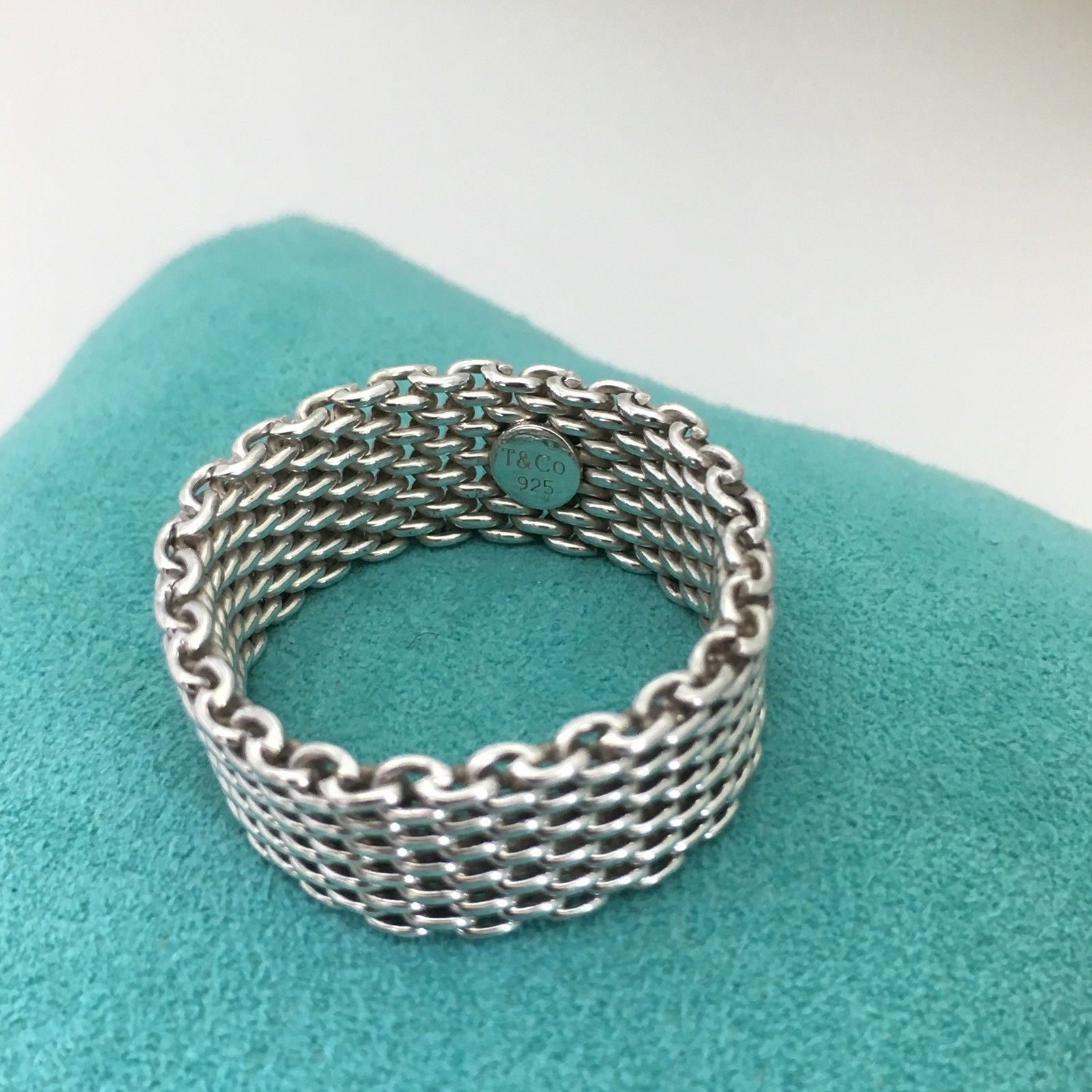 90f6b52a1 Tiffany & Co Sterling Silver Somerset Mesh and 18 similar items. 57