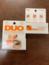 Ardell DUO Brush On Striplash Eyelash Adhesive Glue Dark 0.25 oz (pack o... - $13.50