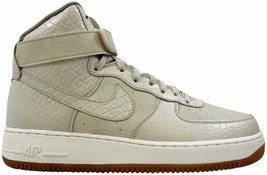 Nike Air Force 1 High Premium Oatmeal/Oatmeal-Khaki-Sail 654440-112 Size 11 - $110.00