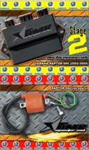 High Performance CDI Box + Ignition Coil for Yamaha Raptor 660 2002-2005 Stage 2 - $229.95
