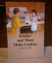 Scooter and Mimi Make Cookies  Hardback Childrens Book 1997 - $4.61