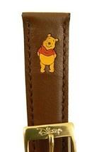 """Disney"""" Corte Láser Winnie The Pooh"""" 16mm Piel Marrón Repuesto Pulsera Nuevo image 2"""