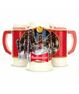 Budweiser 2020 Holiday Stein Ceramic Mug Multi-Color - $24.98