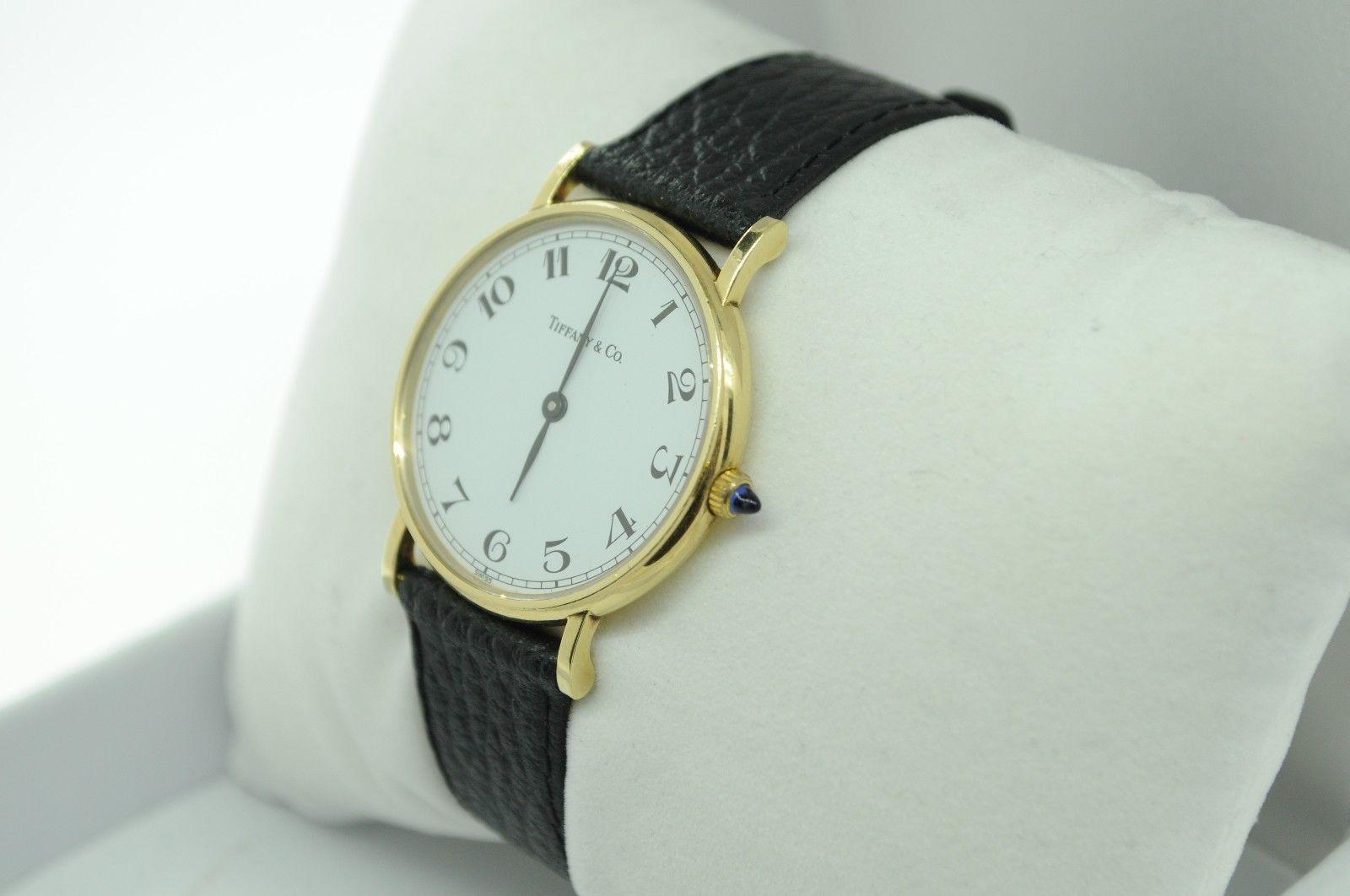 "TIFFANY & CO. 14K Yellow Gold Mid-Sized Quartz Watch (""NEW""-T&Co Band)"