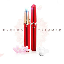 Eyebrow Trimmer Face hair remover Epilator With 2 Replacement Heads - $6.93+