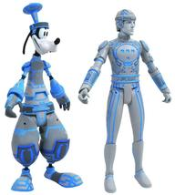 DIAMOND SELECT TOYS Kingdom Hearts Select: Space Paranoids Goofy & Tron ... - $24.76