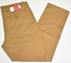 Levi's Pants Men 32x29 Straight Stretch Chino Twill 4-Pocket Pant Khaki Tan P366 - $34.95