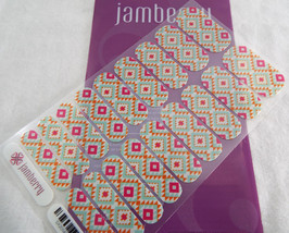 Jamberry Tribal Vibrance SX201403 Nail Wrap (Full Sheet) Retired in 2014 - $17.66