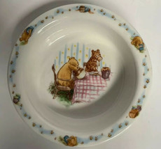 Royal Doulton Classic Winnie the Pooh Children's Rimmed Bowl Soup Cereal - $11.87