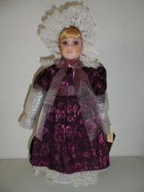 "NEW Seymour Mann Pamela Phillips ""NICOLE"" 19"" Porcelain Doll 17"" H X 8"" ... - $18.67"