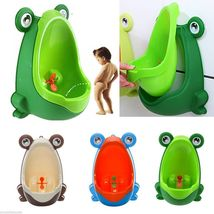 Frog Kids Potty Toilet For Child Boys unrinates Trainer Bathroom Trainin... - $10.50