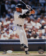 David Justice signed New York Yankees 8x10 Photo- JSA Hologram - $29.95