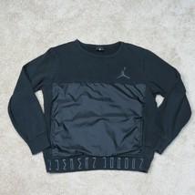Air Jordan 11 Sweatshirt Youth Boys XL Extra Large Black Jumpman Basketball - $18.95