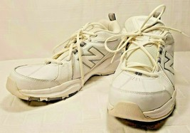New Balance Men's MX608v3 Training Shoe 13D White & Gray Ex Condition Mi... - €40,18 EUR