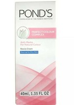 Ponds Perfect Colour Complex Beauty Skin Cream. For Normal and Dry Skin.... - $5.74