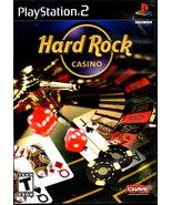 PlayStation 2 - Hard Rock Casino - $10.00
