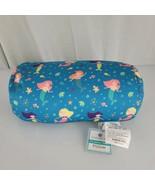 Comfort Bay Squeeze Bead Pillow Microbead Spandex Roll Neck Aqua Blue Me... - $39.59