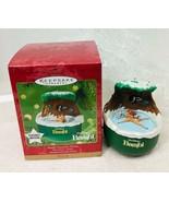 2001 Bambi Discovers Winter Disney Magic Hallmark Christmas Tree Ornam... - $42.08