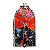 Aladdin Disney Lapel Pin: Windows of Evil Jafar - $200.00