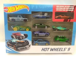 MATTEL HOT WHEELS 9 GIFT PACK EXCLUSIVE DECORATION Collectable X6999 Set - $13.83
