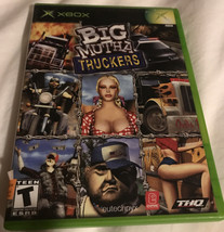 Microsoft XBOX Big Mutha Truckers Video Game Pre-Owned Tested Complete W... - $9.20