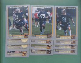 2001 Topps St. Louis Rams Football Set - $3.99