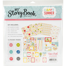 """""""My Story Book Pocket Page Kit 12""""""""X12""""""""-Happy Summer"""" - $11.11"""