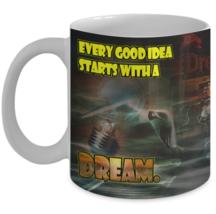Inspirational Mug / Every Good Idea Starts ... /Inspirational Mug w/ Image 11oz - $13.95