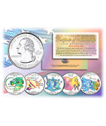 2002 US Statehood Quarters HOLOGRAM *** 5-Coin Complete Set *** w/Capsul... - £9.76 GBP