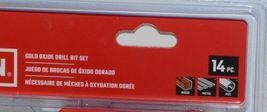 Craftsman CMAM22174 Gold Oxide Drill Bit Set 14 Pieces Storage Case Included image 3