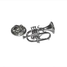 cornet, trumpet, lapel pin/ tie tac etc, comes in gift box