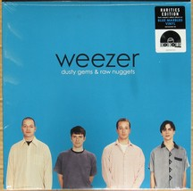 "WEEZER Dusty Gems & Raw Nuggets 12"" vinyl record RSD 2019 new blue marbled - $49.99"