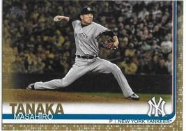 2019 Topps Series 2 Gold #396 Masahiro Tanaka New York Yankee #d 1989/2019 - $3.12
