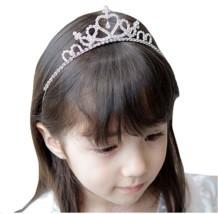 Cute Children tiara crown Wedding Jewelry Flower girl princess crystal r... - £6.82 GBP