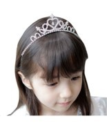 Cute Children tiara crown Wedding Jewelry Flower girl princess crystal r... - $8.88