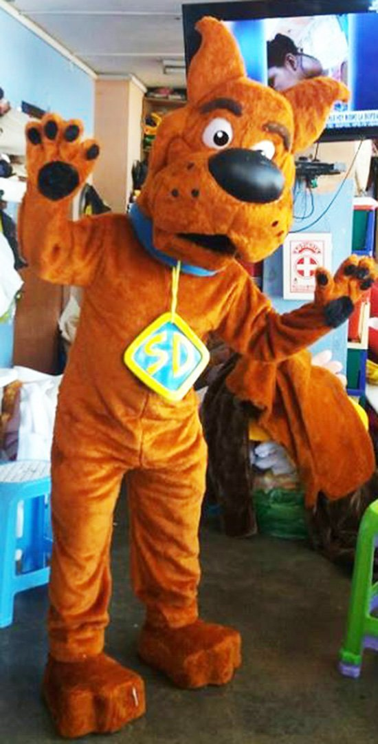 Scooby Doo Mascot Costume Adult Scooby Doo Costume For Sale