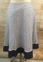 Jones New York Signature Women's  Skirt Size 8 Blue White Polka Dot  - $9.92