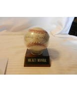 Mickey Mantle Autographed American League Baseball Bobby Brown President - $1,113.75