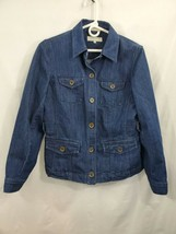 Jones New York Sport Stretch Denim Jacket Size SM NWOT 0638 - $20.20