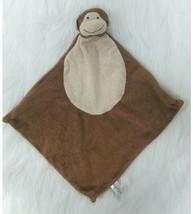 Angel Dear Monkey Baby Security Blanket Lovey Tan Knotted B88 - $11.99