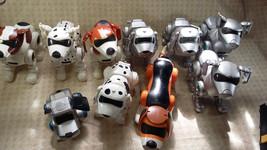90's Manley Toy Quest Tekno Robotic Dog Puppy  Lot of 10 Parts/repair - $94.99