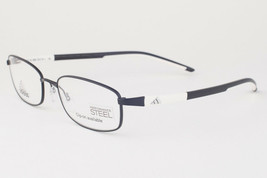 Adidas A623 50 6056 Ambition Matte Black White Eyeglasses 623 506056 54mm - $68.11