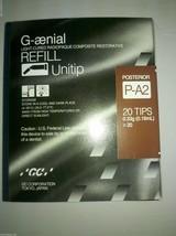 Dental G-aenial LC Radiopaque Composite Restorative Refil Unitip P-A2 20... - $81.48