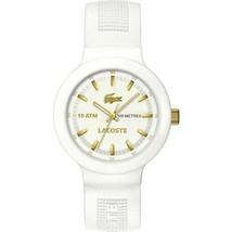 Lacoste Borneo Silicone - White Men's watch #2010684 - $139.58